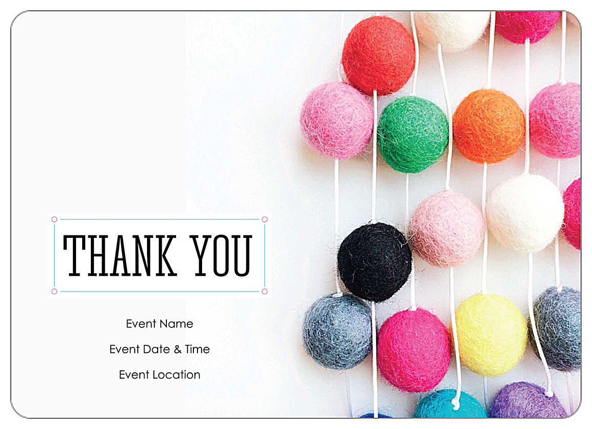 Invitation Card Template Video: Free Thank You Party Customizable Invitation Card Templates