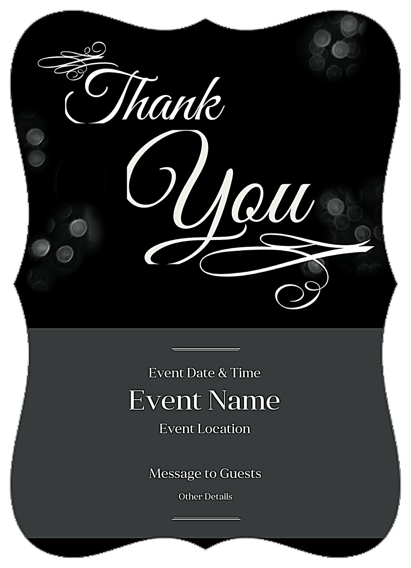 free shimmering bokeh invitation card design templates