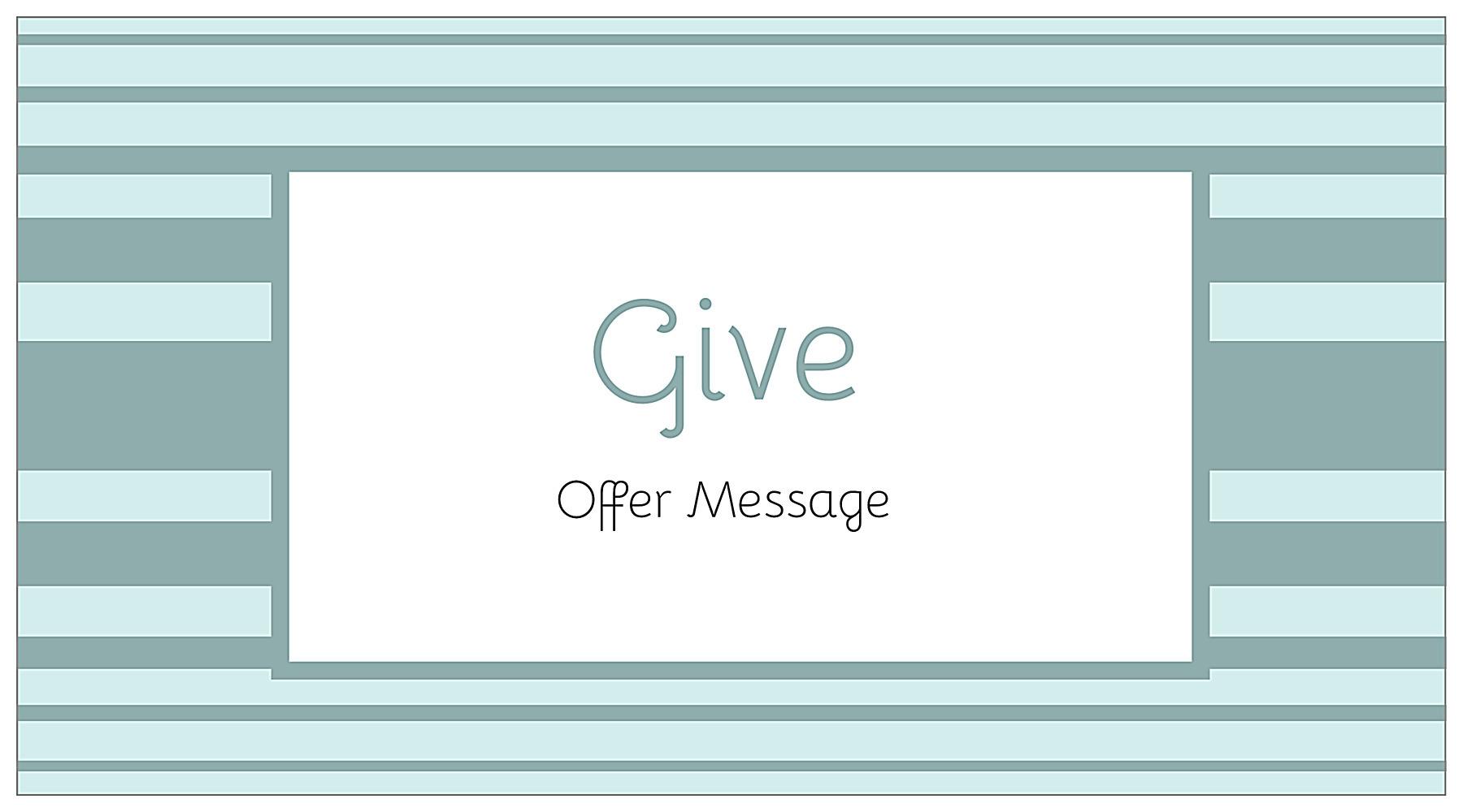 customize our give us a stripe postcard design template. Black Bedroom Furniture Sets. Home Design Ideas