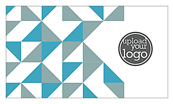 Print Business Cards with Our Geometric Fun Design Template back - Business Cards Maker