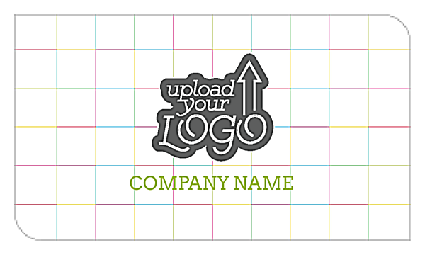 Color Grid back - Business Cards Maker