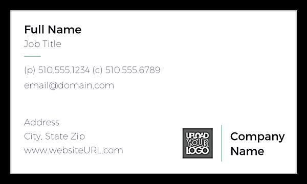Tiled Card front - Business Cards Maker