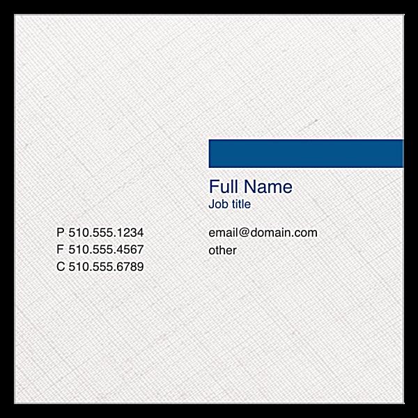 Stripe Bar front - Business Cards Maker