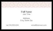 Geo Pattern - business-cards Maker
