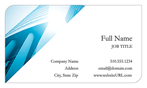 Classic Corners front - Business Cards Maker