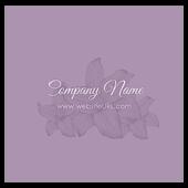 Flowers - business-cards Maker