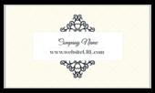 Elegant Curls - business-cards Maker