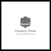 Crest shape - business-cards Maker