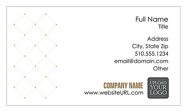 Connected Dots front - Business Cards Maker