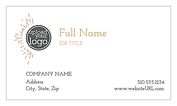 Chasing the Line front - Business Cards Maker