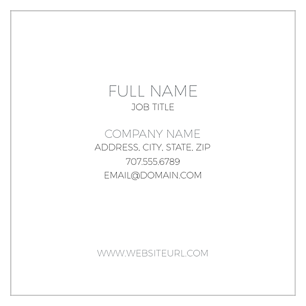 Center One front - Business Cards Maker