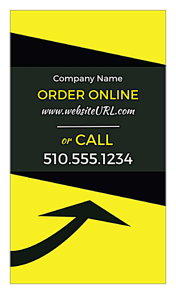 Online Order Up back - Business Cards Maker