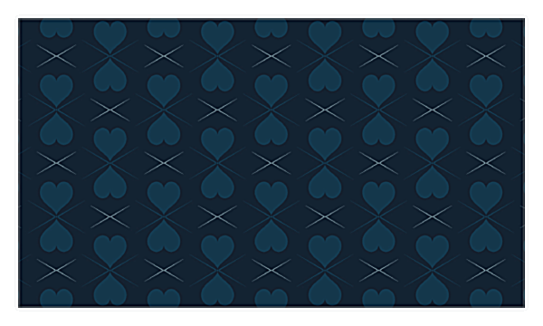 Pattern of Hearts back - Business Cards Maker