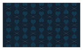 Pattern of Hearts - business-cards Maker