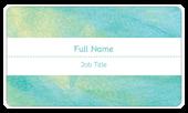 Teal Shimmer - business-cards Maker