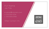 Angular Lines - business-cards Maker