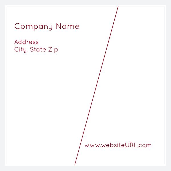 Angular Lines back - Business Cards Maker