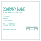 Elephant Textile - business-cards Maker