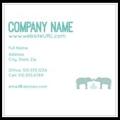 Elephant Textile - business-cards Maker