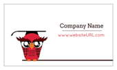 Classroom Owl - business-cards Maker