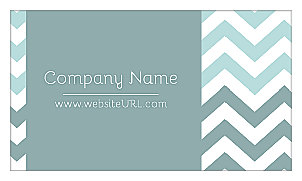 Crooked Stripes front - Business Cards Maker