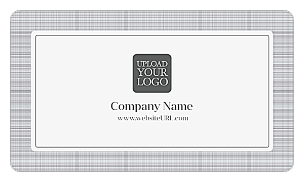 Classic Gray Suit back - Business Cards Maker