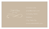Elegant Scroll - business-cards Maker