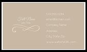 Elegant Scroll - business-cards Maker