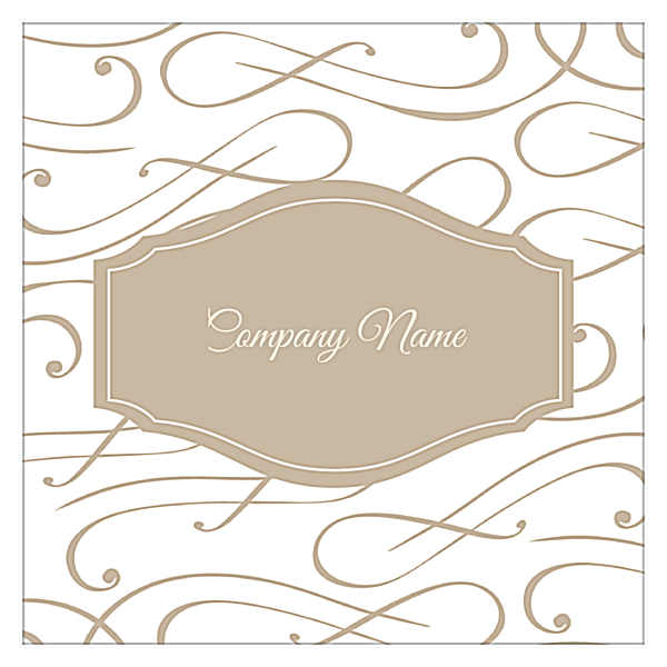 Elegant Scroll back - Business Cards Maker