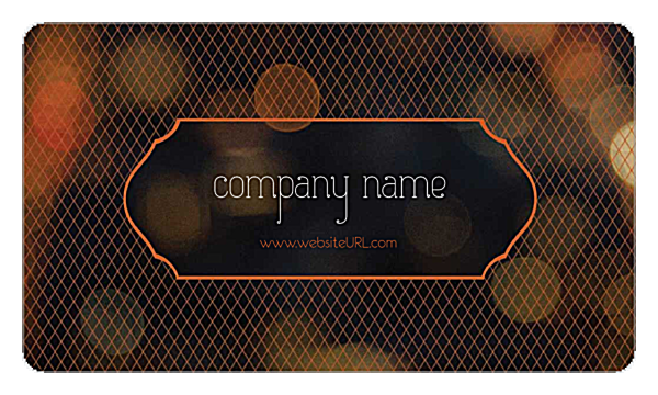 Crosshatch front - Business Cards Maker