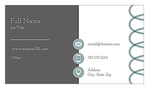 Personalize the bear necessity online business card design bear necessity front business cards maker colourmoves