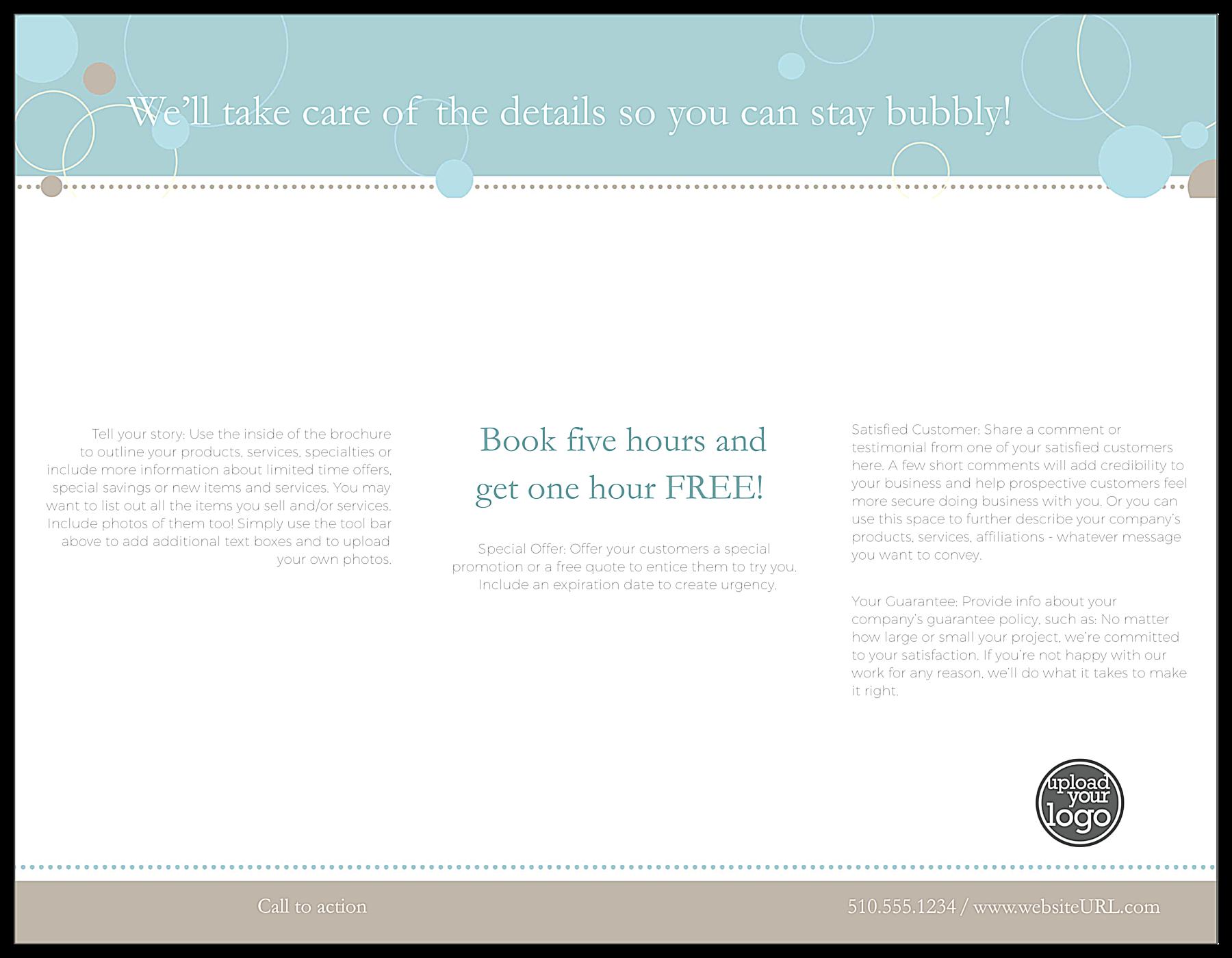 Planning Event back - Brochures Maker