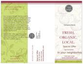 Fresh Food - brochures Maker