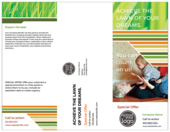 Healthy Lawn - brochures Maker