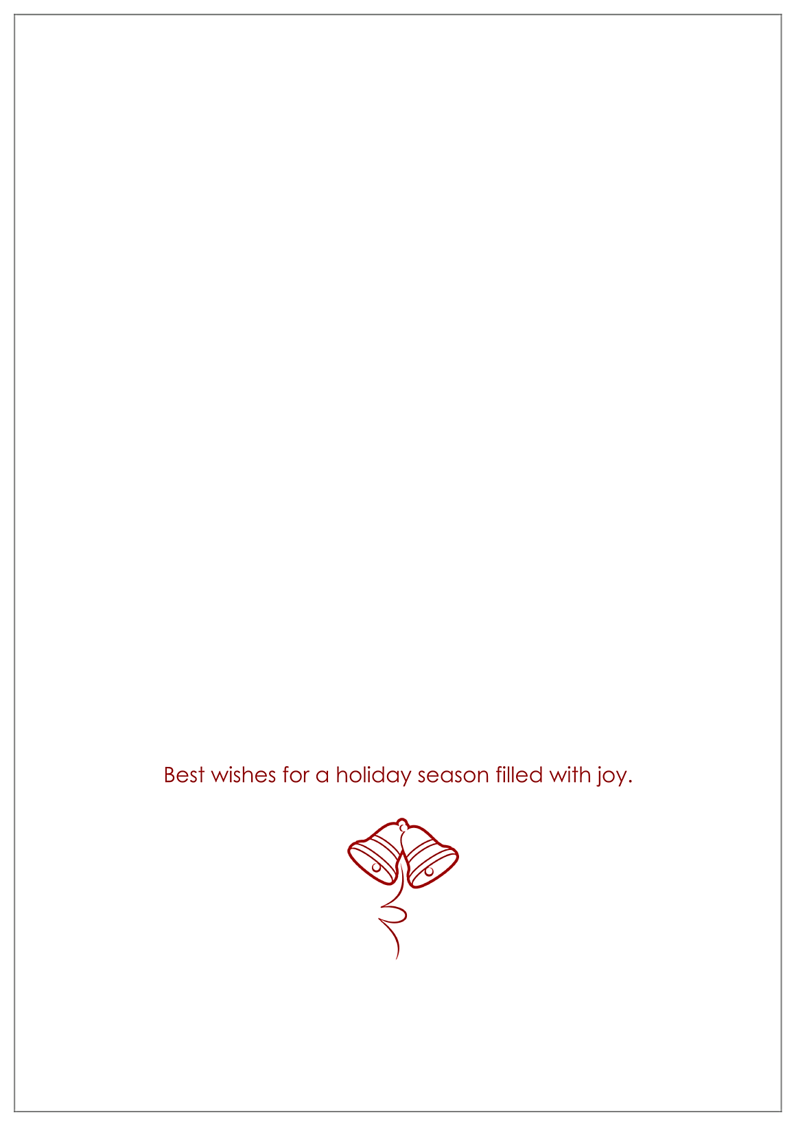 Ornament back - Greeting Cards Maker