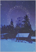 Peaceful Snow - greeting-cards Maker