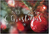 Merry Christmas Ornaments - greeting-cards Maker
