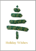 Brushed Tree - greeting-cards Maker