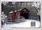 Season's Greeting Bridge - greeting-cards Maker