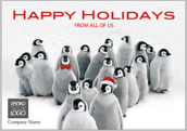 Holiday Penguins - greeting-cards Maker