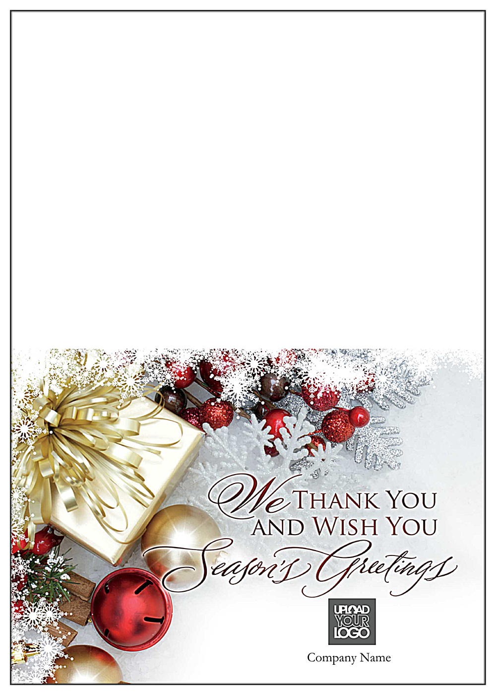 Golden Greetings front - Greeting Cards Maker