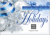 Blue Silver Holidays - greeting-cards Maker