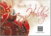 Red Christmas Ornament - greeting-cards Maker