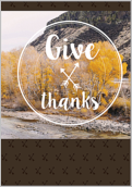 Autumnal Gratitude - greeting-cards Maker
