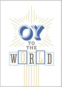 Oy To The World - greeting-cards Maker