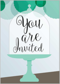 Cake Stands Alone - greeting-cards Maker