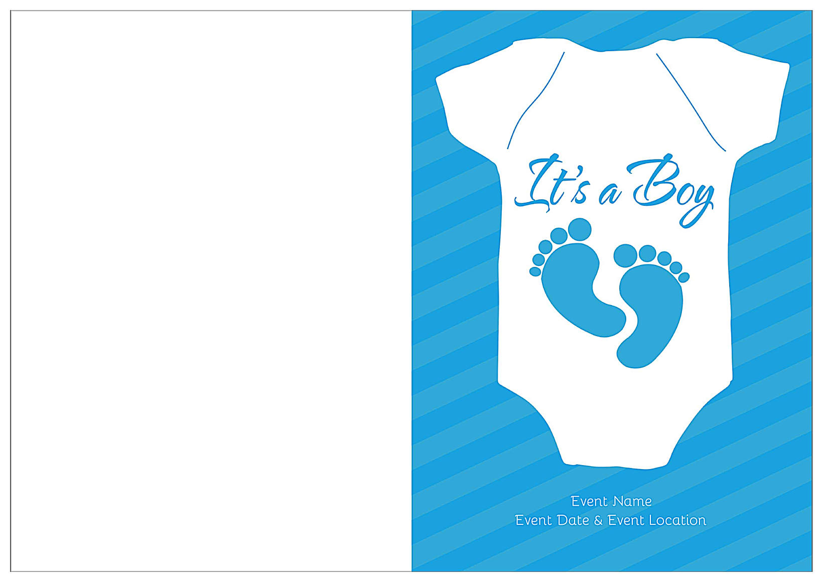Baby Feet front - Greeting Cards Maker