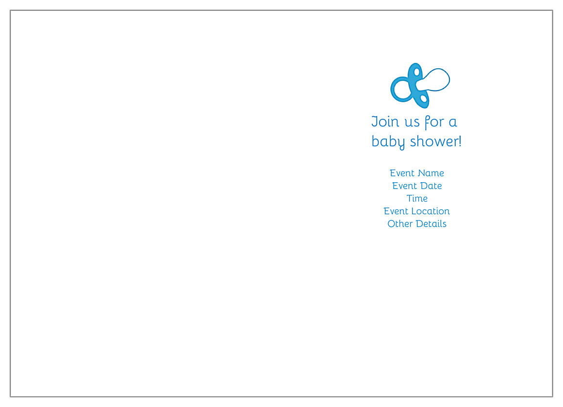 Baby Feet back - Greeting Cards Maker