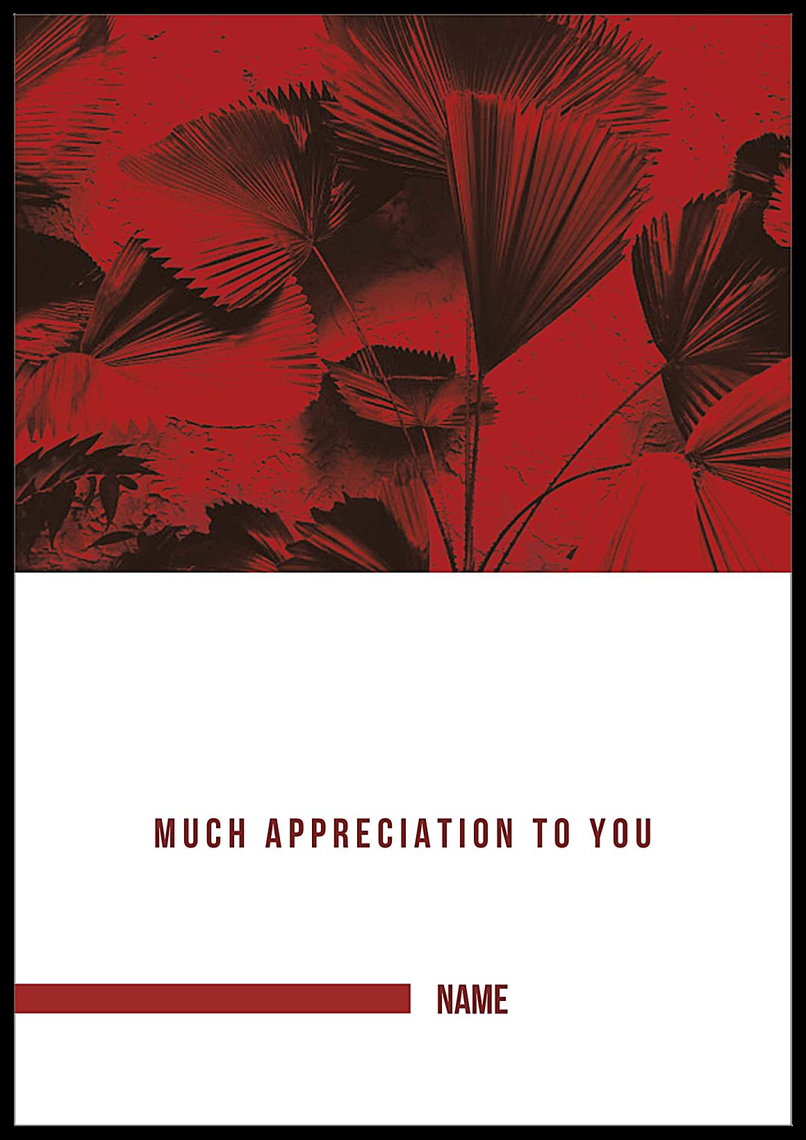 Big Thanks back - Greeting Cards Maker