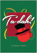 Top Hat Ornament - greeting-cards Maker